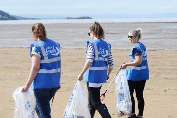Life's a Beach Beach Clean at Weston-Super-Mare's Sand Bay